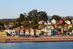 Playa California de Capitola Imágenes de archivo libres de regalías
