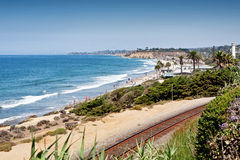 Playa California de Del Mar Imágenes de archivo libres de regalías