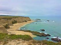 Playa California de Half Moon Bay imágenes de archivo libres de regalías