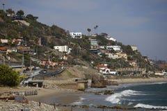 Playa California de Malibu fotografía de archivo