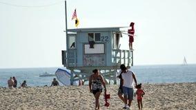 Playa California de Santa Monica metrajes