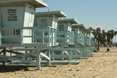 Playa California de Venecia Foto de archivo libre de regalías