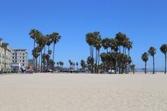 Playa California de Venecia Imagen de archivo libre de regalías