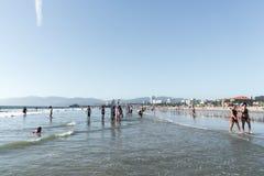 Playa California de Venecia Fotos de archivo