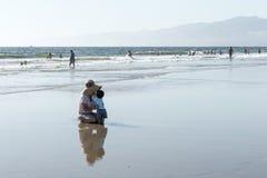 Playa California de Venecia Fotografía de archivo libre de regalías
