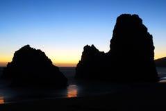 Playa California del rodeo Imágenes de archivo libres de regalías