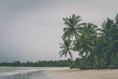 Playa cambiante Fotos de archivo