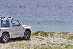 Playa campo a través Sicilia del peloro de la ceja Fotografía de archivo