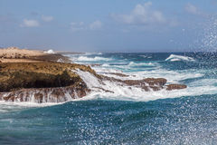 Playa Canoa coastline Royalty Free Stock Photography