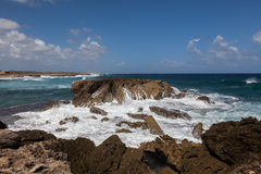Playa Canoa coastline Stock Images