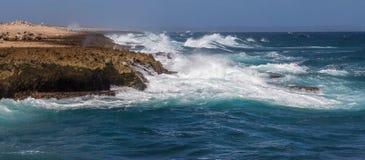 Playa Canoa coastline Stock Photography