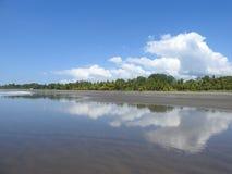 Playa cerca de Jaco Costa Rica Imagen de archivo libre de regalías