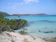 Playa Cerdeña de Pevero Fotos de archivo