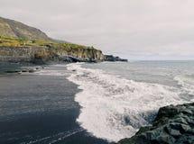 Playa Charco Verde, Λα Palma Στοκ εικόνα με δικαίωμα ελεύθερης χρήσης