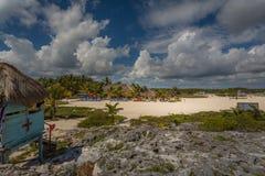 Playa Chen Rio, Cozumel imagens de stock royalty free