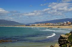 Playa Chicas - Beach in Tarifa, Andalusia, Spain Royalty Free Stock Image