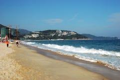Playa china Imágenes de archivo libres de regalías