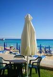 Playa Chipre Fotos de archivo