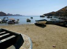 Playa Colombia de Taganga Imagen de archivo libre de regalías