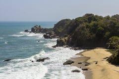 Playa colombiana foto de archivo libre de regalías