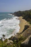 Playa colombiana fotografía de archivo libre de regalías