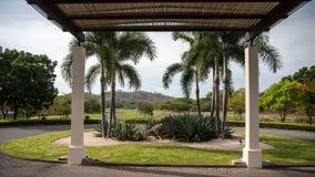 Playa Conchal温泉在哥斯达黎加 免版税库存图片
