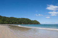 Playa Conchal, Costa Rica. West facing beach landscape of Playa Conchal, Guanacaste, Costa Rica Stock Photography