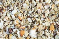 Playa Conchal descasca o fundo imagem de stock royalty free