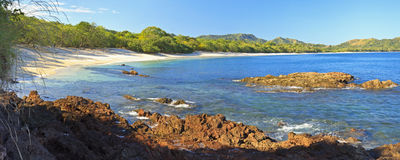 Playa Conchal Panorama Stock Photography
