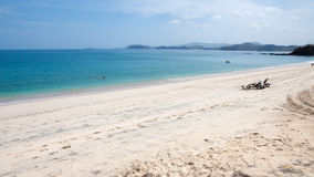 Playa Conchal strand i Costa Rica Arkivbild