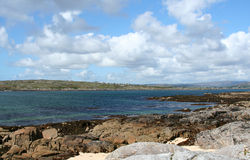 Playa coralina, condado Galway, Irlanda Fotos de archivo libres de regalías
