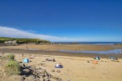 Playa Cornualles Reino Unido de Bude foto de archivo