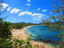Playa Costa Rica de Conchal Imagen de archivo libre de regalías