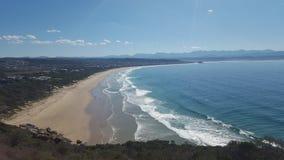 Playa costera Imagen de archivo libre de regalías