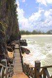 Playa costera de Terengganu Fotos de archivo