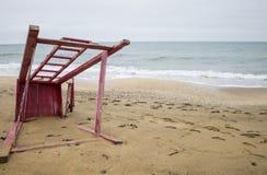 Playa crimea El Mar Negro 2014 Fotos de archivo libres de regalías