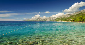 Playa Croacia Foto de archivo