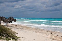Playa Cuba de Varadero Foto de archivo libre de regalías