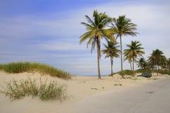 Playa cubana tropical fotografía de archivo libre de regalías