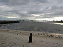 Playa Cuxhaven Foto de archivo libre de regalías