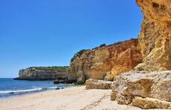 Playa DA Senhora DA Rocha de Algarve Imagen de archivo
