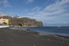 Playa de圣地亚哥, La Homera,西班牙 库存图片