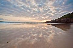 Playa de阿吉拉尔 免版税库存图片