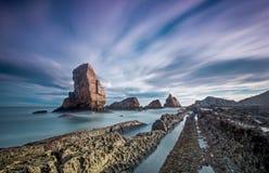 Playa de阿尔尼亚 库存照片