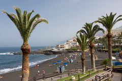 Playa de Λα Arena - Tenerife Στοκ φωτογραφίες με δικαίωμα ελεύθερης χρήσης
