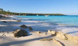 Playa de Λα isla Catalina - καραϊβική τροπική θάλασσα Στοκ Φωτογραφίες