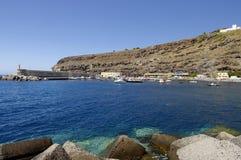 PLAYA de ΣΑΝΤΙΆΓΟ, Λα Gomera, Κανάριο νησί, Ισπανία Στοκ Φωτογραφίες