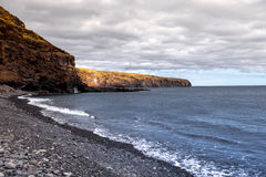 Playa de Σαντιάγο στο νησί Λα gomera Στοκ Εικόνες