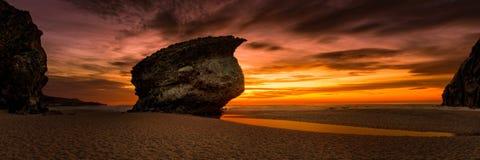 Playa de Лос Muertos стоковые изображения rf