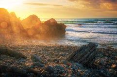 Playa de Abano Imágenes de archivo libres de regalías